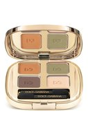 Тени для век Smooth Eye Colour Quad 120 тон (mediterraneo) Dolce & Gabbana | Фото №1