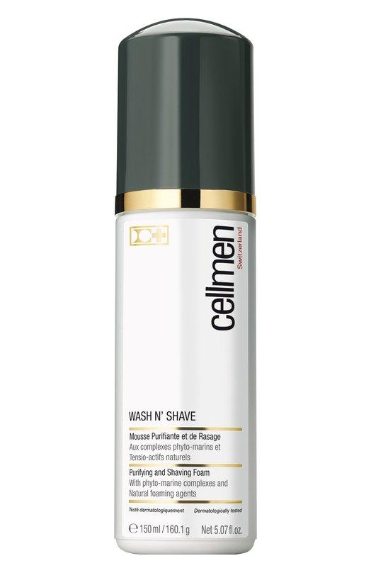 Купить Пена для очищения кожи и бритья Cellcosmet&Cellmen, 3217_0802, Швейцария, Бесцветный