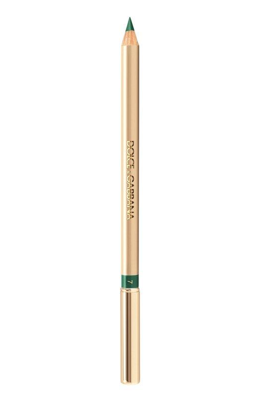 Карандаш для глаз Crayon Intense 7 тон (emerald) Dolce &amp; GabbanaКарандаши для глаз<br><br><br>Объем мл: 0<br>Пол: Женский<br>Возраст: Взрослый<br>Цвет: Бесцветный