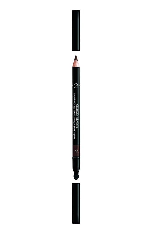 Smooth Silk Eye Pencil карандаш для глаз оттенок 2 Giorgio Armani 3360372040729