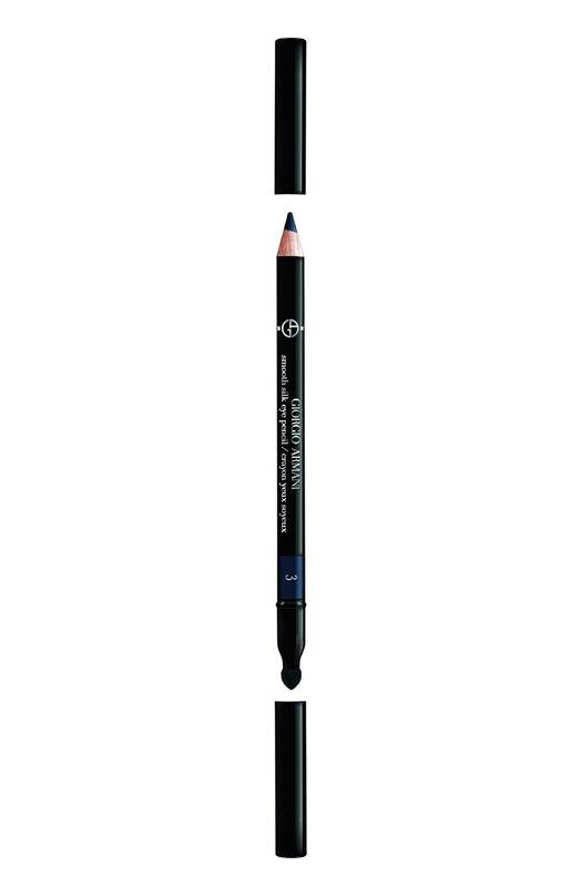 Smooth Silk Eye Pencil карандаш для глаз оттенок 3 Giorgio ArmaniКарандаши для глаз<br><br><br>Объем мл: 0<br>Пол: Женский<br>Возраст: Взрослый<br>Цвет: Бесцветный