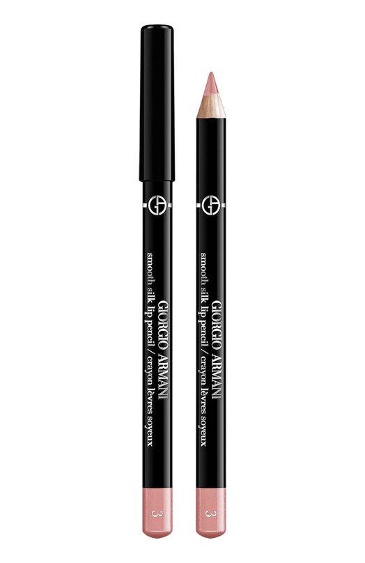 Smooth Silk Lip Pencil мягкий карандаш для губ 3 Giorgio ArmaniКарандаши для губ<br><br><br>Объем мл: 0<br>Пол: Женский<br>Возраст: Взрослый<br>Цвет: Бесцветный