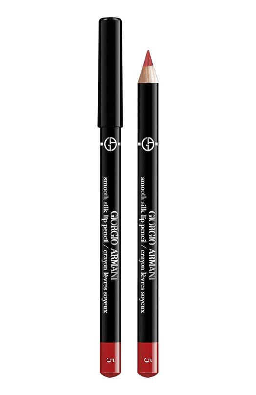 Smooth Silk Lip Pencil мягкий карандаш для губ 5 Giorgio ArmaniКарандаши для губ<br><br><br>Объем мл: 0<br>Пол: Женский<br>Возраст: Взрослый<br>Цвет: Бесцветный