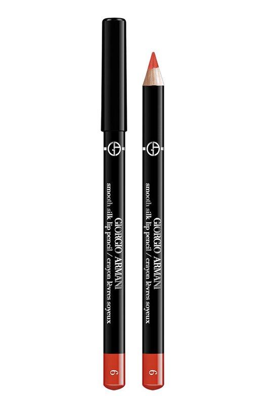 Купить Карандаш для губ Smooth Silk Lip Pencil, оттенок 6 Giorgio Armani, 3605521861412, Германия, Бесцветный