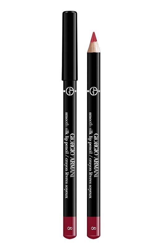 Smooth Silk Lip Pencil мягкий карандаш для губ 8 Giorgio ArmaniКарандаши для губ<br><br><br>Объем мл: 0<br>Пол: Женский<br>Возраст: Взрослый<br>Цвет: Бесцветный