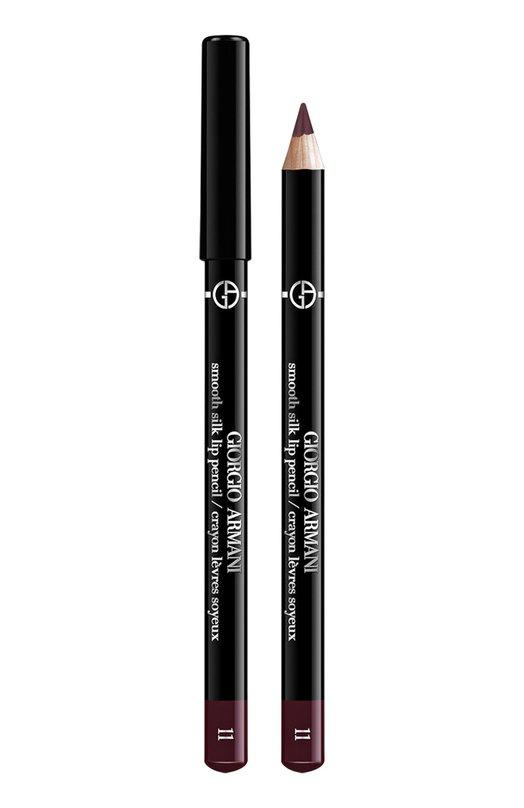 Smooth Silk Lip Pencil мягкий карандаш для губ 11 Giorgio ArmaniКарандаши для губ<br><br><br>Объем мл: 0<br>Пол: Женский<br>Возраст: Взрослый<br>Цвет: Бесцветный