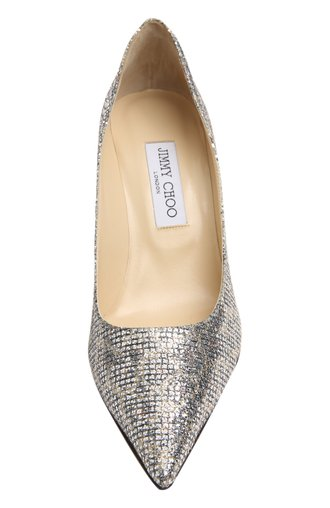 Туфли Agnes Jimmy Choo золотые | Фото №4