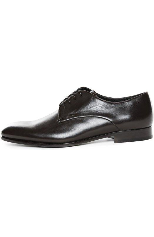 Кожаные туфли New Jersey Giorgio Armani X2C340/XC157