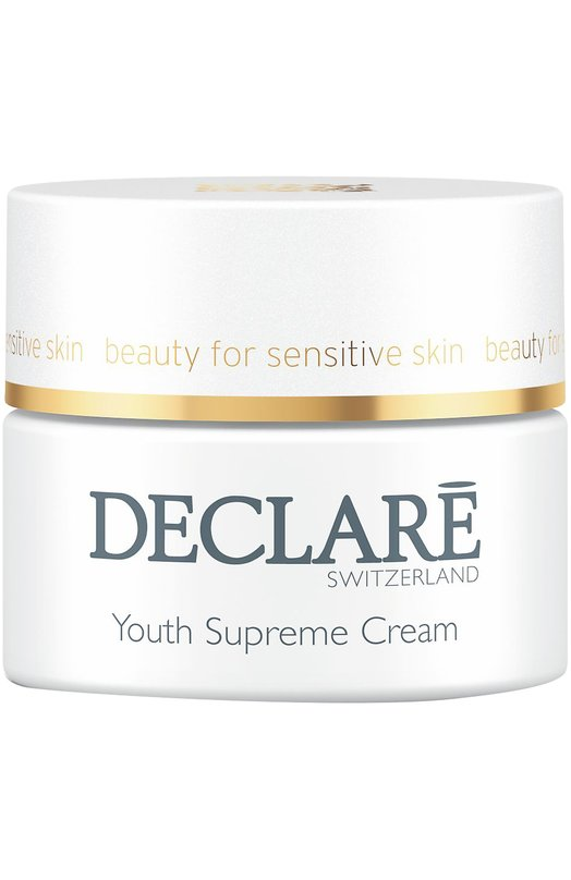 Крем Youth Supreme Cream DeclareУвлажнение / Питание<br><br><br>Объем мл: 50<br>Цвет: Бесцветный<br>Пол: Женский<br>Возраст: Взрослый