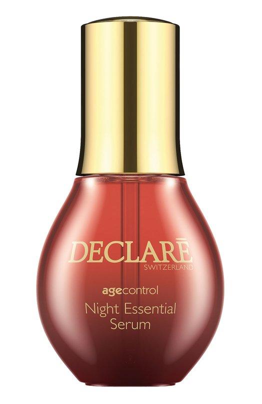 Купить Ночная восстанавливающая сыворотка Night Repair Essential Serum Declare, 640, Швейцария, Бесцветный
