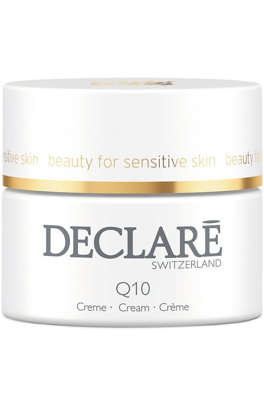 Омолаживающий крем с коэнзимом Q10 Age Control Cream DeclareУвлажнение / Питание<br><br><br>Объем мл: 50<br>Пол: Женский<br>Возраст: Взрослый<br>Цвет: Бесцветный