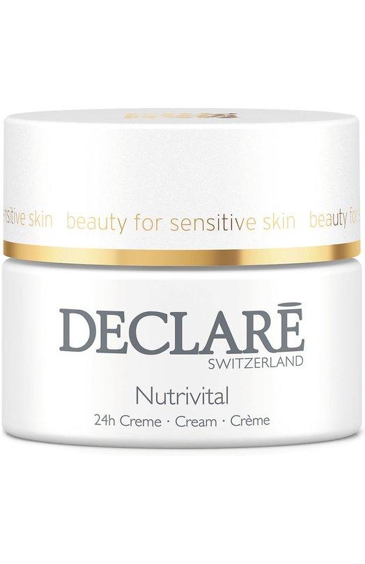 Питательный крем 24-часового действия для нормальной кожи Nutrivital 24 h Cream DeclareУвлажнение / Питание<br><br><br>Объем мл: 50<br>Пол: Женский<br>Возраст: Взрослый<br>Цвет: Бесцветный