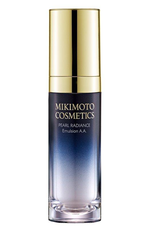 Эмульсия жемчужная для сияния кожи лица Pearl Radiance Emulsion A.A. Mikimoto CosmeticsУвлажнение / Питание<br><br><br>Объем мл: 30<br>Цвет: Бесцветный<br>Пол: Женский<br>Возраст: Взрослый