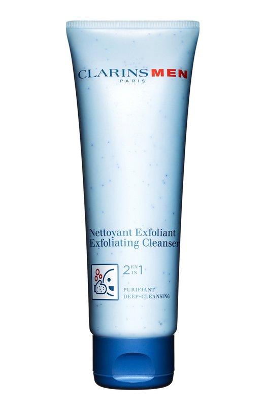 Очищающее и отшелушивающее средство для лица 2 в 1 Men Nettoyant Exfoliant Clarins 03063100