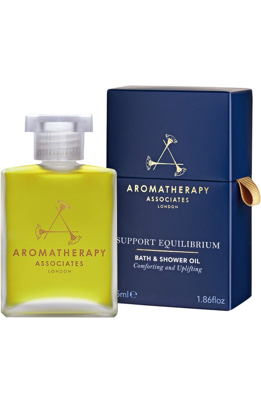 Гармонизирующее масло для ванны и душа Support Equilibrium Bath &amp; Shower Oil Aromatherapy AssociatesСредства для душа и ванны<br><br><br>Объем мл: 55<br>Пол: Женский<br>Возраст: Взрослый<br>Цвет: Бесцветный