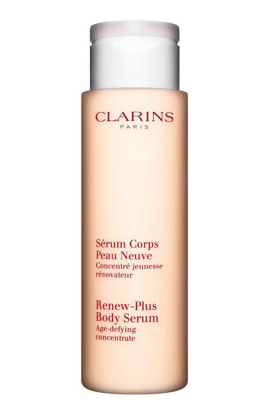 Купить Омолаживающая и обновляющая кожу сыворотка для тела Serum Corps Peau Neuve Clarins, 1550100, Франция, Бесцветный