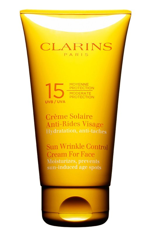 Солнцезащитный увлажняющий крем для лица с SPF14 ClarinsЗащита от солнца<br><br><br>Объем мл: 75<br>Пол: Женский<br>Возраст: Взрослый<br>Цвет: Бесцветный
