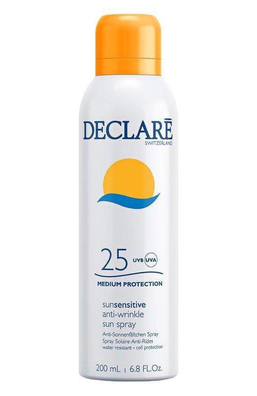 Солнцезащитный спрей с омолаживающим действием Anti-Wrinkle Sun Spray SPF 25 Declare 724