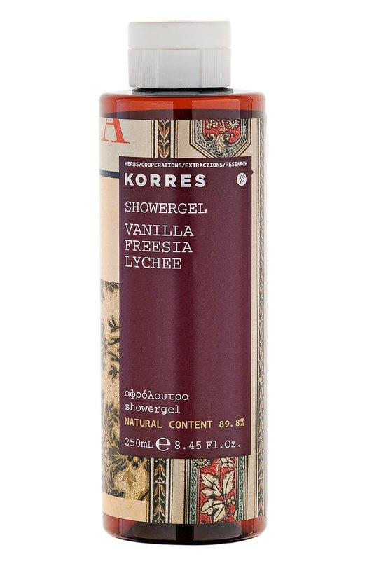 Гель для душа Vanilla Freesia Showergel Korres 5203069041891