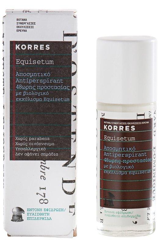 Дезодорант Antiperspirant With Fragrance Equisetum KorresДезодоранты<br><br><br>Объем мл: 30<br>Пол: Женский<br>Возраст: Взрослый<br>Цвет: Бесцветный