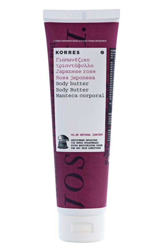 Крем для тела Japanese Rose Body Butter Korres 5203069043420