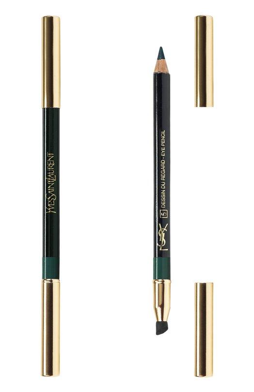 Crayon Yeux Карандаш для глаз №5 Deepest Green YSL 3365440563988