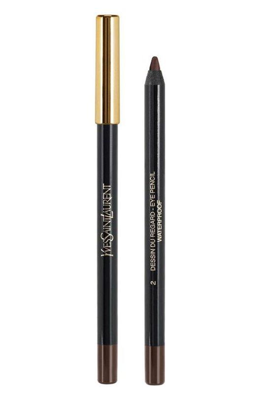 Crayon Yeux Карандаш для глаз водостойкий 02 Patent Leather YSL 3365440650336