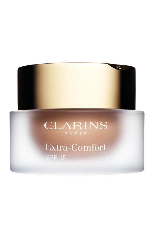 Питательный тональный крем для сухой кожи SPF15 Extra-Comfort SPF15 107 ClarinsТональные средства<br><br><br>Объем мл: 30<br>Пол: Женский<br>Возраст: Взрослый<br>Цвет: Бесцветный