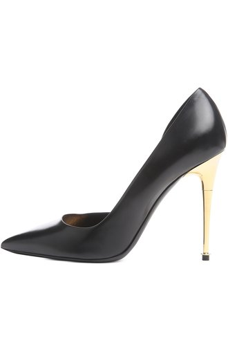 Туфли Metal Heel Tom Ford чёрные | Фото №1