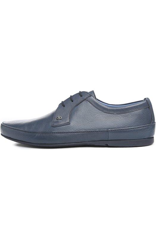 Туфли Aldo BrueТуфли<br>В весенне-летнюю коллекцию 2016 года вошли дерби из мелкозернистой кожи синего цвета. Обувь дополнена тонкой подошвой. В качестве декора использован небольшой металлический логотип бренда, основанного Мариано Бруе.<br><br>Российский размер RU: 40<br>Пол: Мужской<br>Возраст: Взрослый<br>Размер производителя vendor: 6<br>Материал: Кожа натуральная: 100%; Стелька-кожа: 100%; Подошва-резина: 100%;<br>Цвет: Синий