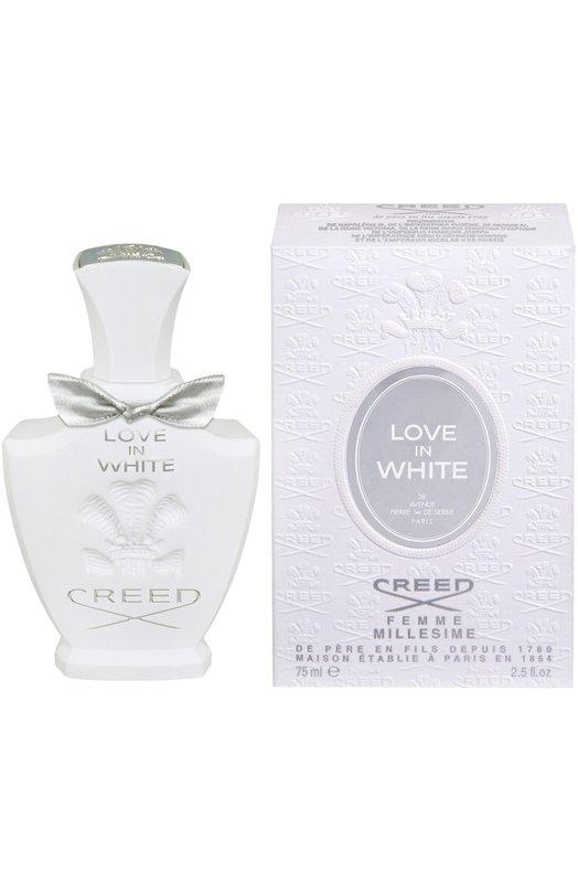 Парфюмерная вода Love In White CreedАроматы для женщин<br><br><br>Объем мл: 75<br>Пол: Женский<br>Возраст: Взрослый<br>Цвет: Бесцветный