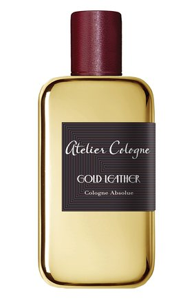Парфюмерная вода Gold Leather Atelier Cologne | Фото №1