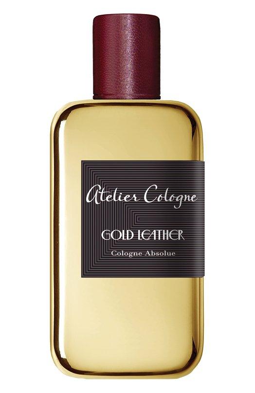 Парфюмерная вода Gold Leather Atelier CologneАроматы для женщин<br><br><br>Объем мл: 100<br>Пол: Женский<br>Возраст: Взрослый<br>Цвет: Бесцветный