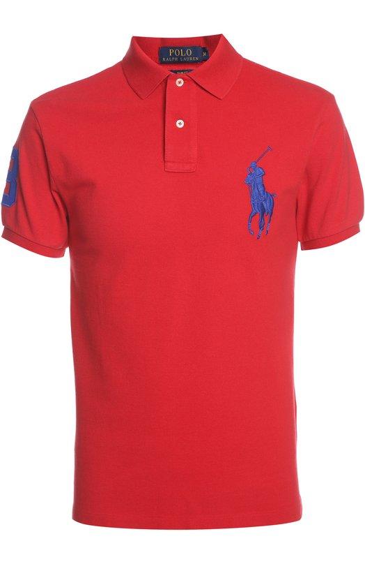 Поло Polo Ralph LaurenПоло<br><br><br>Российский размер RU: 46<br>Пол: Мужской<br>Возраст: Взрослый<br>Размер производителя vendor: S<br>Материал: Хлопок: 100%;<br>Цвет: Красный