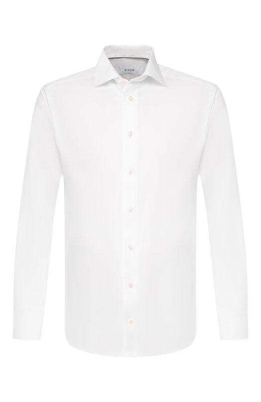 Приталенная сорочка с французскими манжетами Eton 3100 79512