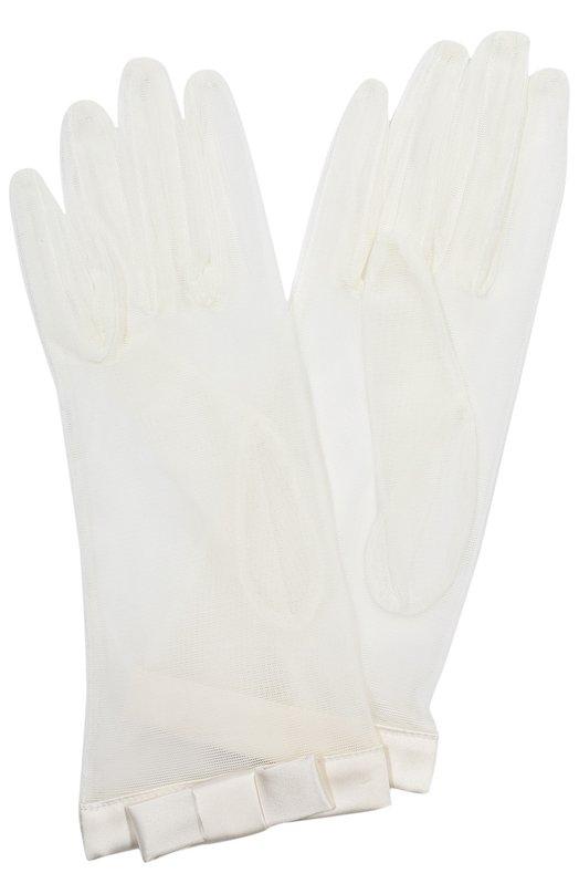 Перчатки Sermoneta Gloves. Цвет: кремовый