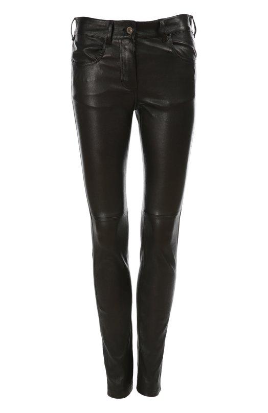 Кожаные леггинсы Givenchy 15P/5614/653