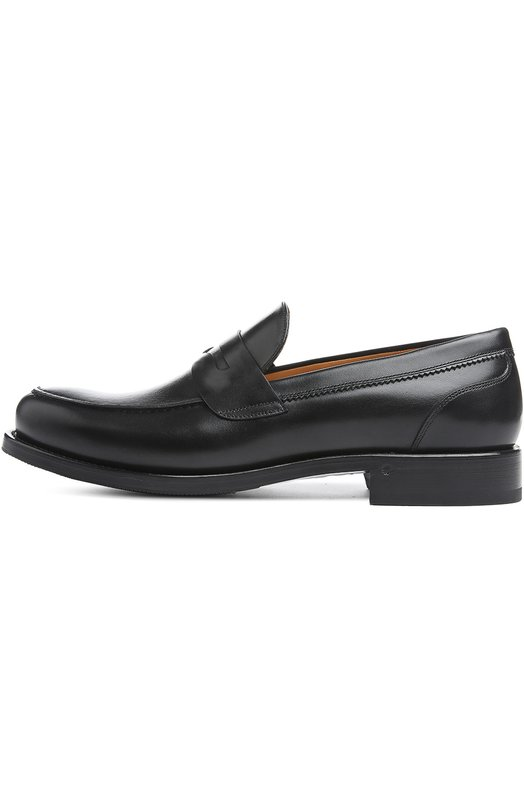 Лоферы O`KeeffeЛоферы<br>Пенни-лоферы на невысоком каблуке сшитые вручную, вошли в классическую коллекцию бренда, основанного Мод О'Кифи. Для изготовления обуви с закругленным мысом мастера марки использовали мягкую гладкую кожу черного цвета. Союзка украшена перемычкой, характерной для такой модели.<br><br>Российский размер RU: 41<br>Пол: Мужской<br>Возраст: Взрослый<br>Размер производителя vendor: 7-5<br>Материал: Кожа натуральная: 100%; Стелька-кожа: 100%; Подошва-кожа: 100%; Подошва-резина: 100%;<br>Цвет: Черный