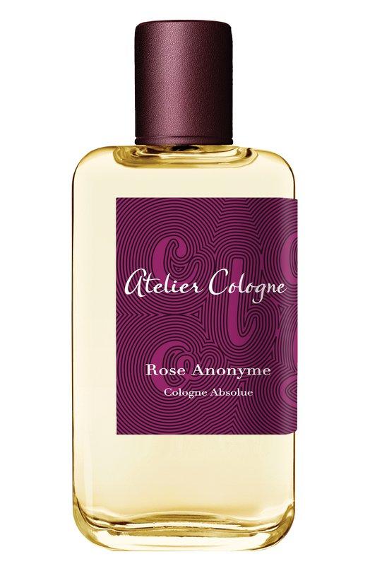 Парфюмерная вода Rose Anonyme Atelier CologneАроматы для женщин<br><br><br>Объем мл: 100<br>Пол: Женский<br>Возраст: Взрослый<br>Цвет: Бесцветный