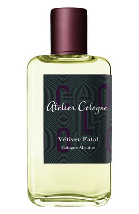 Парфюмерная вода Vetiver Fatal  Atelier Cologne | Фото №1