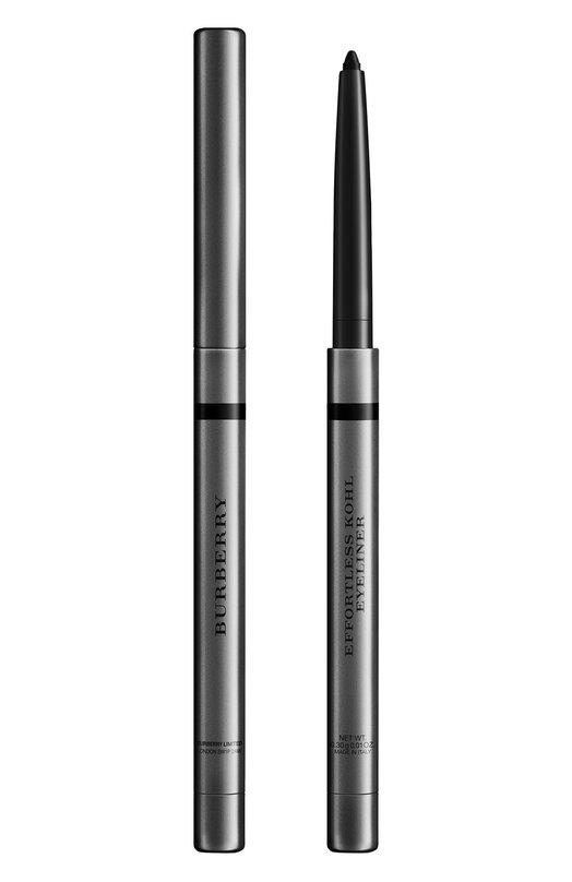 Автоматический карандаш-кайал 01 Jet Black BurberryКарандаши для глаз<br><br><br>Объем мл: 0<br>Пол: Женский<br>Возраст: Взрослый<br>Цвет: Бесцветный