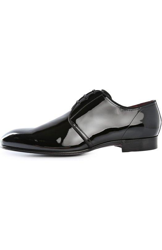 Купить Туфли Portofino Dolce & Gabbana, 0111/CA5813/A1153, Италия, Черный, Стелька-кожа: 83%; Стелька-шелк: 5%; Стелька-вискоза: 12%; Подошва-кожа: 100%; Кожа натуральная: 100%;