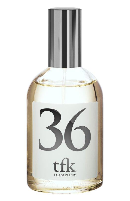 Парфюмерная вода-спрей 36 TFK The Fragrance KitchenАроматы для женщин<br><br><br>Объем мл: 100<br>Пол: Женский<br>Возраст: Взрослый<br>Цвет: Бесцветный