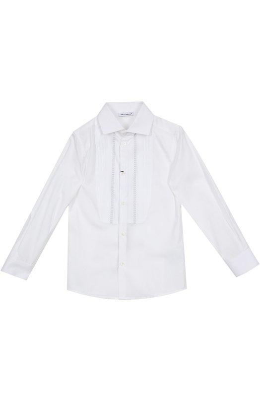 Рубашка Dolce &amp; GabbanaРубашки<br><br><br>Размер Years: 3<br>Пол: Мужской<br>Возраст: Детский<br>Размер производителя vendor: 98-104cm<br>Материал: Хлопок: 100%;<br>Цвет: Белый