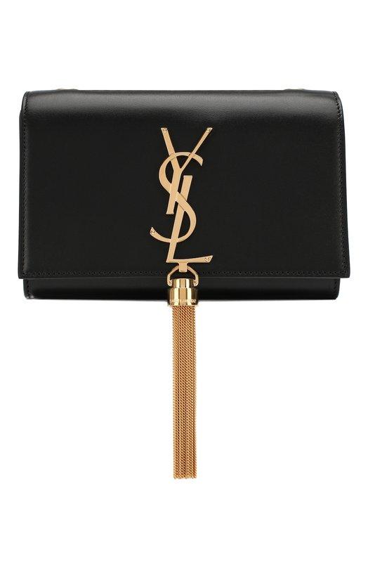Купить Сумка Monogram Kate small на цепочке Saint Laurent, 354120/C150J, Италия, Черный, Кожа натуральная: 100%;