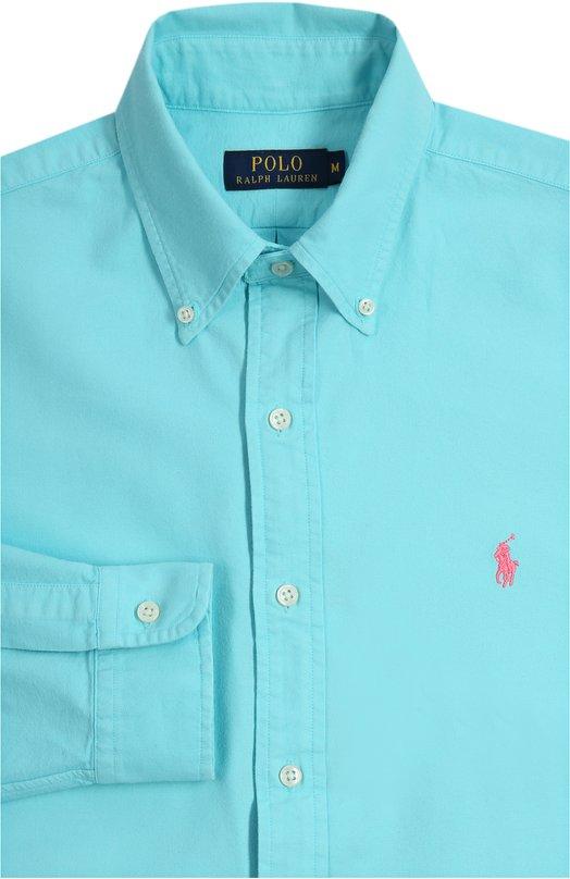 Сорочка Polo Ralph LaurenРубашки<br><br><br>Российский размер RU: 54<br>Пол: Мужской<br>Возраст: Взрослый<br>Размер производителя vendor: XXL<br>Материал: Хлопок: 100%;<br>Цвет: Голубой