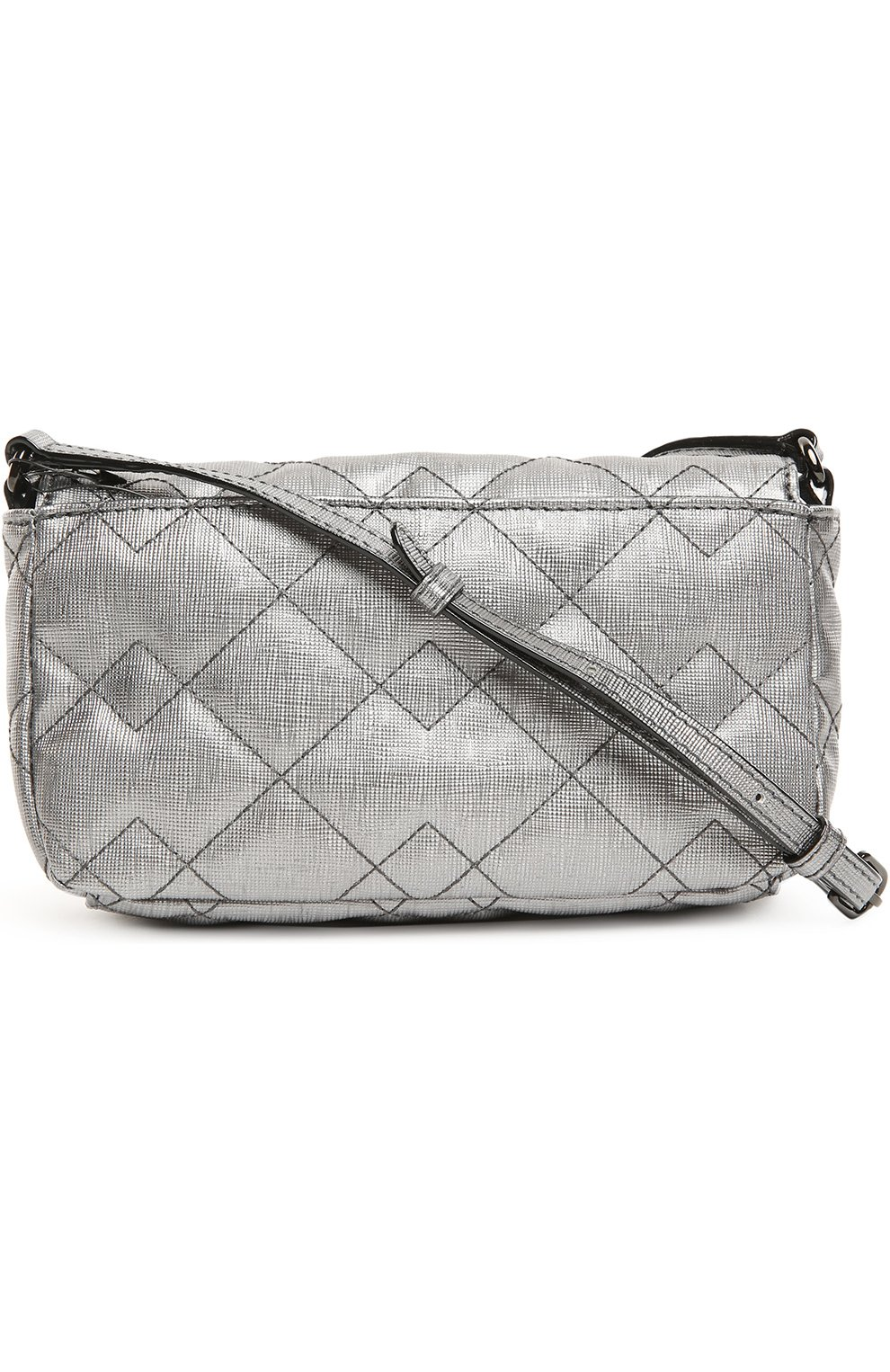 Сумка Sophisticato Quilted Marc by Marc Jacobs серая | Фото №2