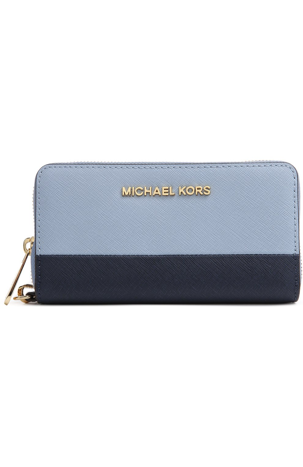 Портмоне Jet Set Travel Michael Michael Kors синего цвета | Фото №1