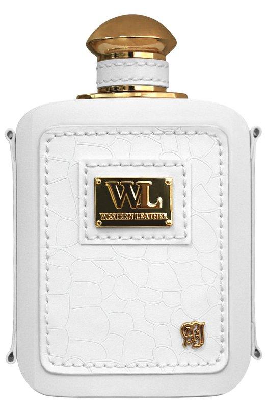 Парфюмерная вода-спрей Western Leather White Alexandre.JАроматы для женщин<br><br><br>Объем мл: 100<br>Пол: Женский<br>Возраст: Взрослый<br>Цвет: Бесцветный