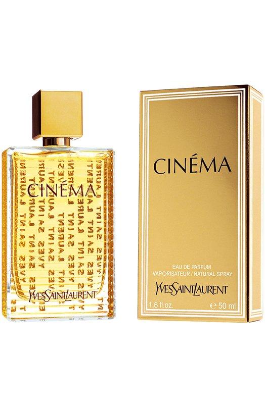 Парфюмерная вода Cinema YSLАроматы для женщин<br><br><br>Объем мл: 50<br>Пол: Женский<br>Возраст: Взрослый<br>Цвет: Бесцветный